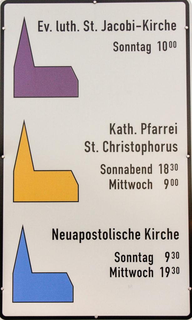 Aktuelle Anstrengungen: Einheitskirche
